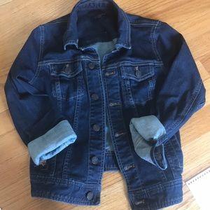Talbots denim jacket-petite